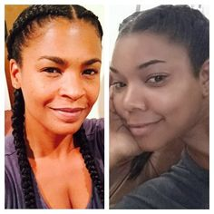 Nia Long And Gabrielle Union Rock Cornrows in the same week. Is this trend making a comeback? Take our poll and tell us whether you'll bring this look back.