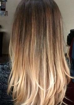 Balayage auf glattes Haar #neueFrisuren#frisuren#2017#bestfrisuren#bestenhaar#beliebtehaar#haarmode#mode#Haarschnitte #2018