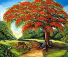 "Items similar to The Best Cuban Art . ""Esperando Mi Guajira"" Oil on Canvas . on Etsy Oil Painting App, Oil Painting On Canvas, Oil Paintings, Crayons Pastel, Cuban Art, Caribbean Art, Art Oil, Mother Gifts, Cool Art"