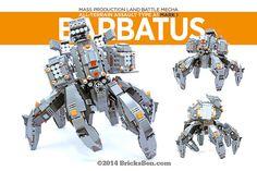 BricksBen - LEGO Barbatus Mecha Warrior   by BricksBen LEGO® Creations