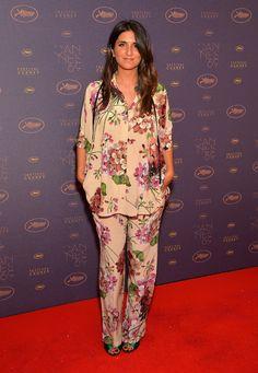 Géraldine Nakache en pyjama Gucci