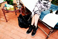 Emma Roberts Dishes On Her Favorite Accessories For Fall #refinery29  http://www.refinery29.com/2014/07/71963/emma-roberts-jimmy-choo-photo-diary#slide9