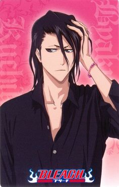 Byakuya Kuchiki-Bleach. Squad Six's Captain. He is a Nobel and as such comes across as cold and distant at times. He comes across as harsh, but when he loves someone they are the first person on his mind, He will do anything to take care of them. Unfortunately the death of his wife Hisana made him even more distant.