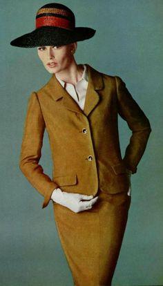 Vintage Suit by Nina Ricci 1964