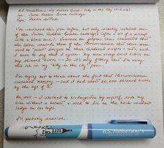 A.S. Manhattaner w/ Sailor Reddish-Brown ink