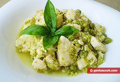 The Chicken Fricassee in a Wine Sauce with Ginger and Green Peas | Dietary Cookery | Genius cook - Healthy Nutrition, Tasty Food, Simple Recipes
