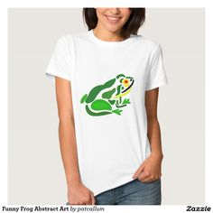 Funny Frog Abstract Art