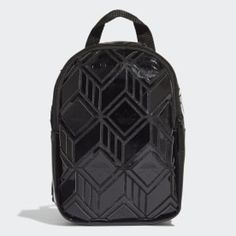 adidas Bag - Black | adidas US Mini Backpack, Black Backpack, Leather Backpack, Adidas Backpack, Adidas Bags, Filigree Jewelry, Delicate Jewelry, Unique Tattoos, Small Tattoos