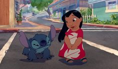 """""""I got a new dog. His name is Stitch."""""""