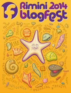 Festa della Rete Rimini BlogFest 2014 12 - 13 - 14 settembre 2014 tra web conference, dibattiti, installazioni, presentazioni, concerti, premiazioni, giochi online