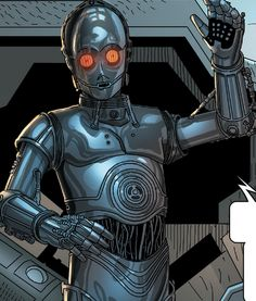 0-0-0 (Triple Zero) - Was a protocol droid designed to specialise in etiquette, customs, translation and torture in Star Wars: Darth Vader.