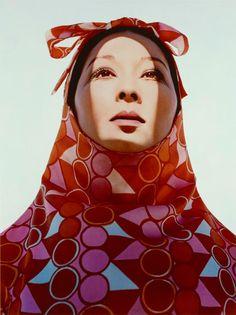 Akiko in Rudi Gernreich Sheath, India, negative 1966; print 2011. Photo by: Hiro