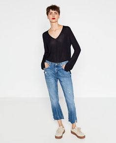 V-NECK SWEATER-SPECIAL PRICES-WOMAN | ZARA United States