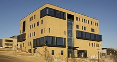 Willard J. Walker Hall - University of Arkansas, Fayetteville, AR.  #Techstyle® #Acoustical #Ceilings by #Hunter Douglas Contract, #LEED #architecture