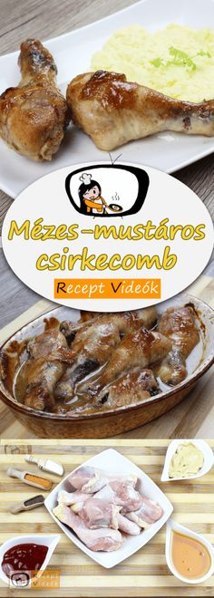Mézes-mustáros csirkecomb Camembert Cheese, Nom Nom, Recipes, Food, Recipies, Essen, Meals, Ripped Recipes, Yemek