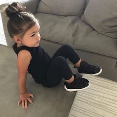 ideas for baby girl born outfit Cute Baby Girl Outfits, Toddler Girl Outfits, Cute Baby Clothes, Babies Clothes, Toddler Girl Style, Little Girl Fashion, Fashion Kids, Toddler Fashion, Cute Mixed Babies