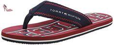 Tommy Hilfiger F2285loyd 13d, Tongs Homme, Bleu (Midnight), 40 EU - Chaussures tommy hilfiger (*Partner-Link)
