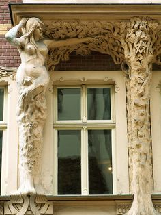 Rīga, Smilšu iela. Art Nouveau architecture in Latvia #Jugendstil