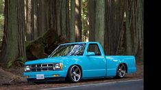 The truck Chevrolet S 10, Chevrolet Trucks, Gmc Trucks, Pickup Trucks, Bagged Trucks, Mini Trucks, Cool Trucks, Custom Chevy Trucks, Custom Cars