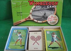 WIMBLEDON CARD GAME BY PEPYS