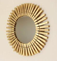 clothing pin mirrors
