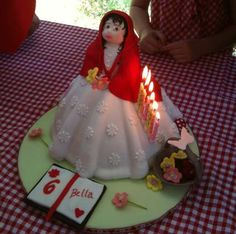 Little Red Riding Hood Cake - My little party planner