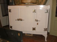 Three Door GE Monitor Top Refrigerator- SOLD by MOON RIVER CHATTEL, via Flickr