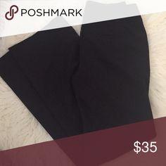 Black trouser Beautiful basic black trouser by WHBM. Modern Boot style White House Black Market Pants Trousers