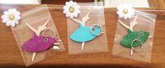 Portachiavi Ballerine Handmade di LeMiePassioniInGesso su Etsy