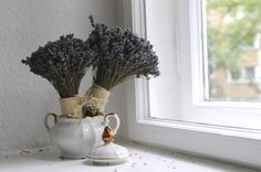 Lavender wedding bouquets