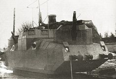 D-6 Armored Railcar, Motorized by kitchener.lord, via Flickr