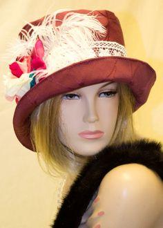 1920s fabulous flapper Cloche hat by aileens4hats on Etsy, £30.00