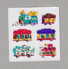 Sandylion+Trains+Stickers+Rare+Vintage+PM403