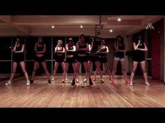 나인뮤지스[9MUSES] 와일드(WILD) 안무연습 영상공개 (+playlist)