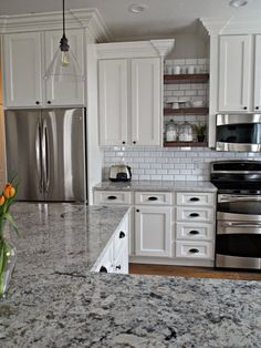 White Kitchen!!!!! TDA decorating and design: Kitchen Before, During, & After Reveal