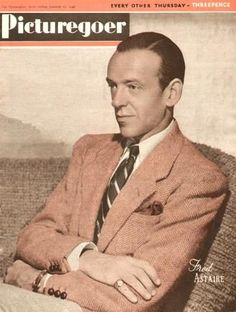 """Fred Astaire ~ """"Picturegoer"""" magazine, January 1946..."""