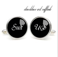 Suit UP  cufflinks  wedding gift ideas for by etnecklace on Etsy, $16.99