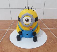 dort - Mimoň 3D (Já padouch) / cake - Minion 3D (Despicable Me)
