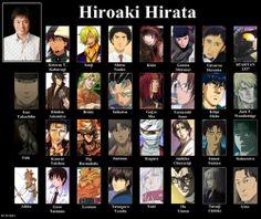 Hiroaki Hirata. Seiyuu for Sanji from one piece