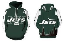 New York Jets Hoodie Medium-XXL 2XL Unisex Men Women Football NY Sweatshirt  FREE SHIPPING   FREE RETURNS! NFL Team Accessories 5c75745ea