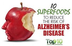 10 Superfoods to Reduce the Risk of Alzheimer's Disease