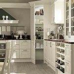 Remarkable Corner Kitchen Pantry Cabinet