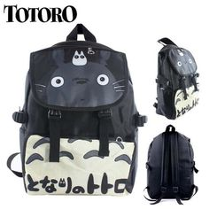 Totoro Nylon Waterproof Laptop Shoulder / Schoolbag Backpack - OtakuForest.com