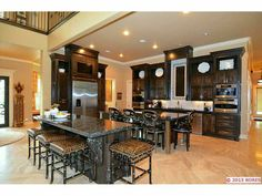 Two #kitchen islands are better than one! www.cctulsa.com