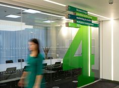 Guardian News & Media | Kings Place offices wayfinding & signage | Cartlidge Levene