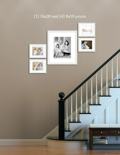 1000 images about stairway pictures on pinterest how to - Arranging pictures on a wall ...