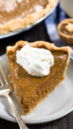 Mom's Classic Homemade Pumpkin Pie Recipe - Crazy for Crust