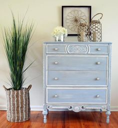 Summertime Blue Chalk Style Paint | General Finishes Design Center
