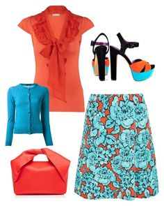 Kirsten by christyking863 on Polyvore featuring polyvore fashion style Naf Naf Dosa Etro Jessica Simpson J.W. Anderson clothing