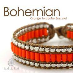 Available at: ballabacelets.com  #ballabracelets #jewelry #musthave #fashionista #instafashion #orange #beautiful #shopping #pretty #fashion #trendy